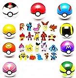 9pcs Pokemon Children's Collection Ball,...