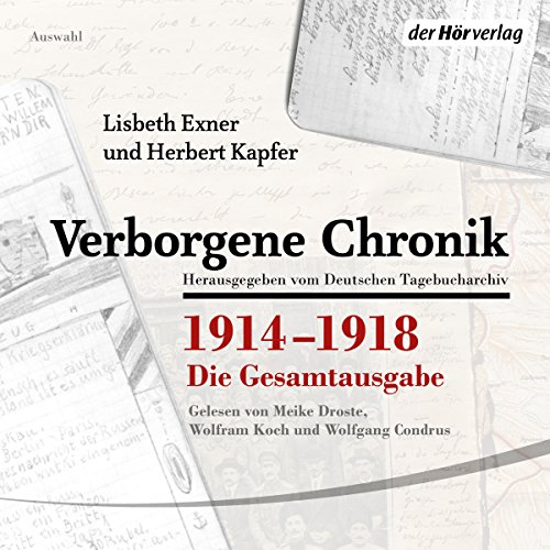 Verborgene Chronik 1914-1918 cover art