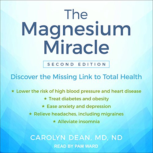 The Magnesium Miracle (Second Edition) audiobook cover art