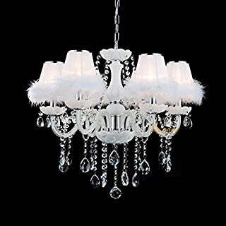 : lustre romantique Blanc