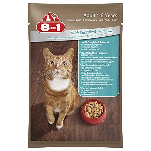 8in1 8IN1–Sachet Frische im Thunfisch für Katzen–100g
