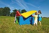 Soft Lernhaus / Tolles Spielhaus für drinnen + draußen / Maße: 120 x 80 x 100 cm / 3+