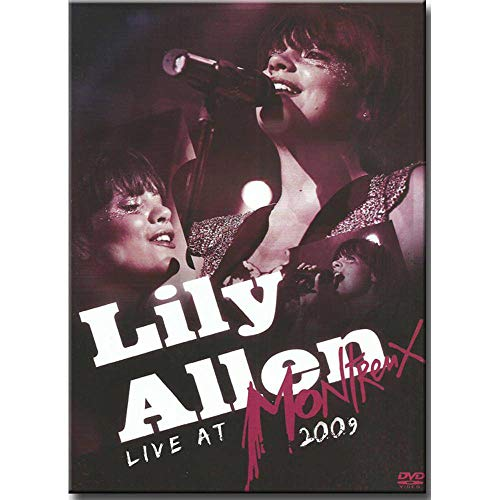 DVD Lily Allen - Live At Montrenx