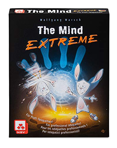 NSV - 4092 - The Mind - Extreme International - Juego de Cartas