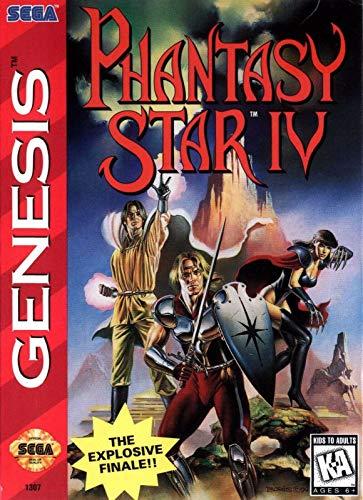 ELITEPRINT Póster de Phantasy Star 4 SEGA Mega Drive Classic Retro A3...