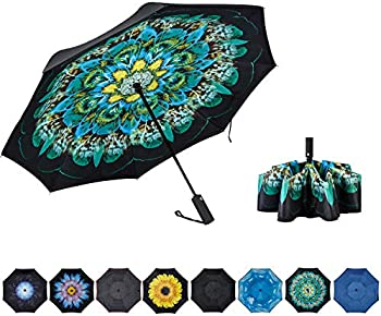 Noorny Inverted Double Layer Automatic Folding Reserve Umbrella