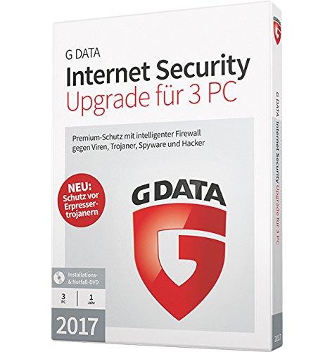 Preisvergleich Produktbild G DATA Internet Security 2017 Upgrade für 3 PC