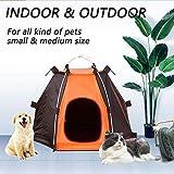 Tienda Impermeable Al Aire Libre Cerca del Perro De Animal Doméstico Portátil Desmontable Animal Doméstico del Gato De La Perrera Plegable Carpa Casa Perros Jaulas para Acampar Traving