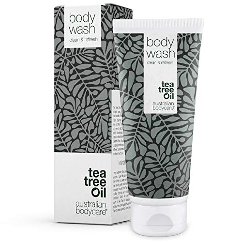 Australian Bodycare Body Wash 200ml | Teebaumöl Duschgel für Männer & Frauen bei Unreiner & Trockener Haut, Pickeln, Juckreiz, Körpergeruch, Schweiß | Auch zur Pflege bei Pilzinfektionen, Fußpilz