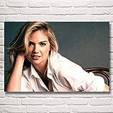 Kate Upton Mädchen Super Model Art Poster und Druckgrafik