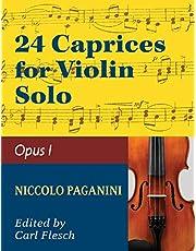 Paganini: 24 Caprices, Op. 1 - Violin solo