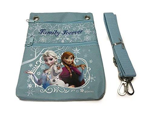 Disney La Reine des neiges Mini sac à main/Lanière/Portefeuille/sac pour appareil photo–Bleu