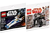 LEGO Star Wars First Order Heavy Assault Walker Last Jedi & U-Wing Fighter Rogue One Set - Polybag Edition Building Set