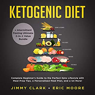 Ketogenic Diet + Intermittent Fasting Ultimate 2-in-1 Value Bundle audiobook cover art