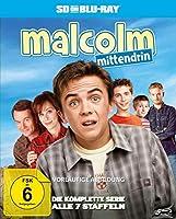 Malcolm mittendrin - Die komplette Serie (Staffel 1-7). Blu-ray: Deutsch beim Bonusmaterial (optional)