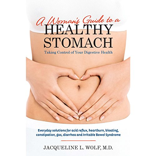 A Woman's Guide to a Healthy Stomach audiobook cover art