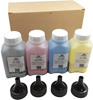 DINGLONG Toner Refill Kit for HP 201a CF400a CF401a CF402a CF403a Cartridge for use with HP Color Laserjet Pro MFP M277dw ...
