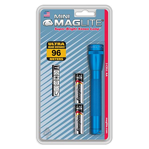 Maglite Blister Mini-torche AA Bleu