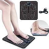 XMYING Masajeador de pies, Vibrolegs pies y piernas, Promueve la circulación sanguínea, Alivia el Dolor Muscular, relaja los pies, Adecuado para Uso doméstico y de Oficina, Tipo de Carga USB(A)