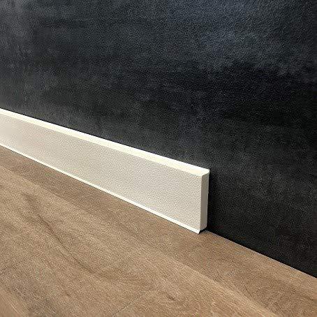 15 Meter Fußleisten | Sockelleisten 60 x 12 mm
