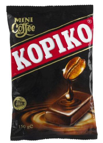 Kopiko Kaffee-Bonbon Hartkaramelle, 5er Pack (5 x 150 g)