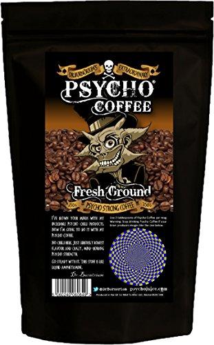 Psycho Coffee - Frisch gemahlener starker Kaffee 250g