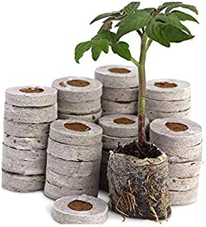 COIR GARDEN Netted Coco Coins Hydroponics Seed Germination Kit - Pack of 100