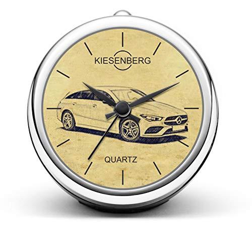KIESENBERG Design Tischuhr Geschenke für CLA 118 Shooting Brake Fan Uhr T-5402
