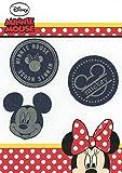 Golden Lutz - Aufbügel-Flicken - Minnie & Mickey Mouse