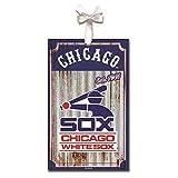 Team Sports America Chicago White Sox, Metal Corrugate Ornament
