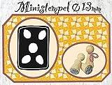 Zwergenstempel Lebkuchen, Ø13mm, fast 400 lustige Stempel-Motive im Shop