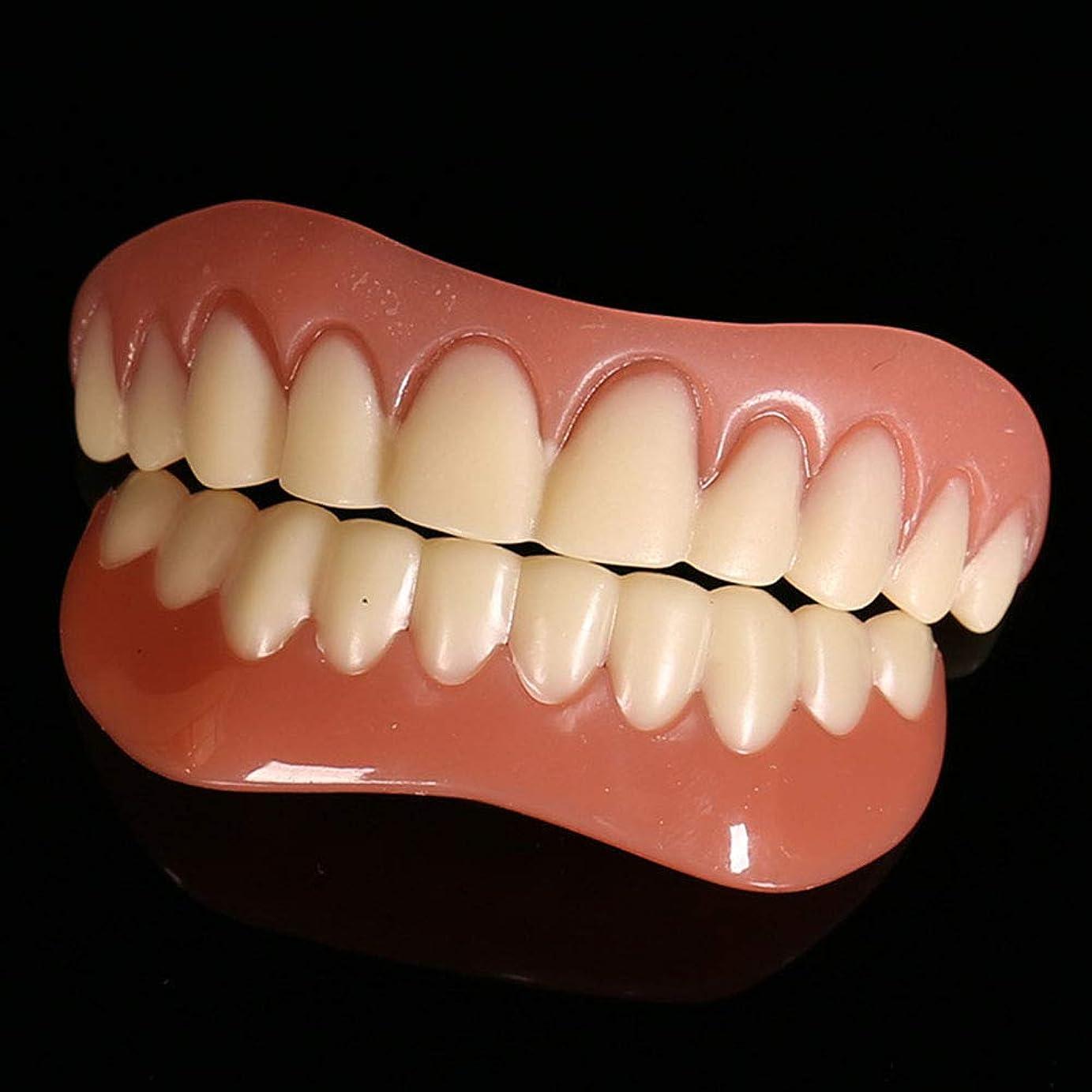スタッフ近似保護する義歯シミュレーション入れ歯の6セットは、シリコーン現実的なホワイトニング中括弧を使用してサイクルを洗浄することができます