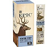 EPIC Venison and Beef Strips Keto Friendly, Whole30, 20 ct, 0.8 oz Strips