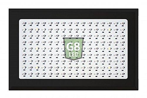 G8LED 450 Watt LED Veg/Flower Grow Light with Optimal 8-Band plus Infrared (IR) and Ultraviolet (UV) - 3 Watt Chips