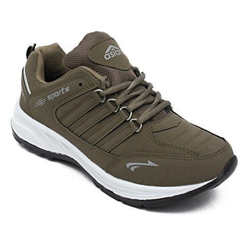 ASIAN Cosco Sports Running Shoes for Men (Size: 12 UK, Color: Brown)