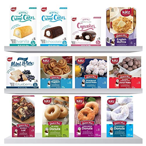Katz Gluten Free Best Seller Multi Pack | Dairy, Nut and Gluten Free | Kosher 6.69 Pounds, (Pack Of 12)