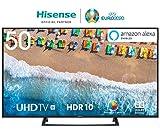 HISENSE H50BE7200 TV LED Ultra HD 4K, HDR, Dolby DTS, Single Stand Slim Design, Smart TV VIDAA U3.0...