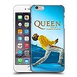 Head Case Designs Oficial Queen Freddie Mercury Live At Wembley Arte Clave Carcasa rígida Compatible con Apple iPhone 6 Plus/iPhone 6s Plus