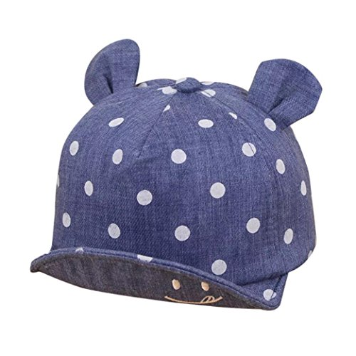 QinMM Sombrero de Punto Lindo de Las niñas y niños bebé, Gorra de Sol de béisbol de Verano