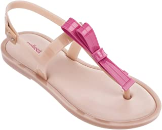 Melissa Shoes Women's Slim Sandal Light Pink Matte 5 M US