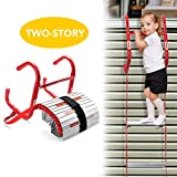 Best Fire Escape Ladders - DELXO Fire Escape Ladder, 2 Story Portable Emergency Review