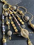 Schlüsselanhänger - Grey Ring, Taschenbaumler, Anhänger, Charms, Glücksbringer, keychain,...