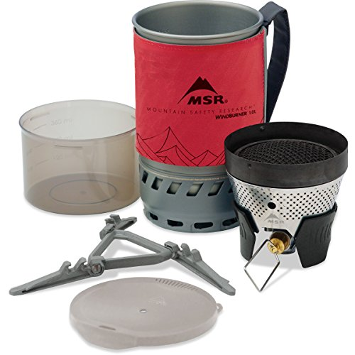 MSR WINDBURNER STOVE SYSTEM 1.0L (GAS NOT INCLUDED)