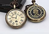 ROORKEE INSTRUMENTS (INDIA) A NAUTICAL REPRODUCTION HOUSE Superior Ship Timer Keeper Solid Brass Pocket Watch with Wooden Gift Box Direct Manufacturer