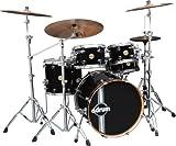 ddrum PMP522 PBLK Paladin Maple 5-Piece Drum Set, Piano Black