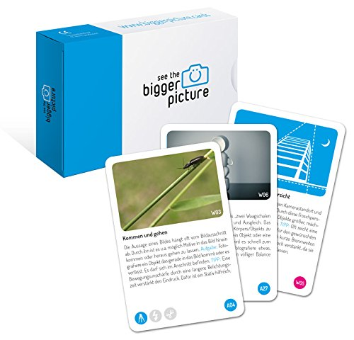 bigger picture Inspirations- und Aufgabenkarten - Lernkarten für Fotografen