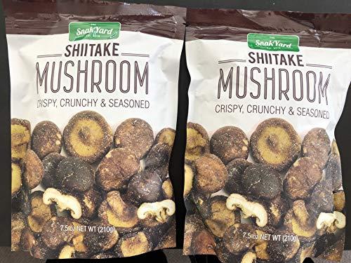 The Snak Yard Shiitake Mushroom 7.5 Oz Crispy...