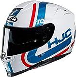 HJC 14442109 RPHA 70 GAON MC21 - Casco da Motociclismo Uomo, Multicolore (Bianco/Blu/Rosso), L