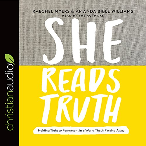 She Reads Truth audiobook cover art