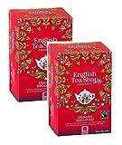 English Tea Shop Colazione inglese Fairtrade e biologica, 2 x 50g